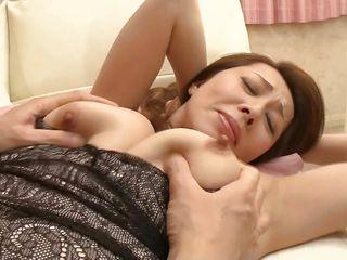 Японское порно большие сиськи